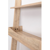Pine & Fir Wood Desk with Shelves Zina , thumbnail image 4