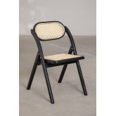 Wooden Foldable Dining Chair Sia , thumbnail image 3