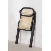 Wooden Foldable Dining Chair Sia , thumbnail image 6