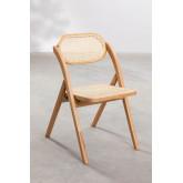 Sia Wood Folding Dining Chair, thumbnail image 4