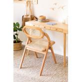 Sia Wood Folding Dining Chair, thumbnail image 3