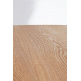 Round MDF Dining Table & Steel (Ø100 cm) Laho, thumbnail image 3