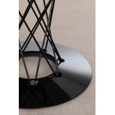 Round MDF Dining Table & Steel (Ø100 cm) Laho, thumbnail image 5
