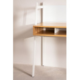 Desk in Steel & Melamine  Rhank , thumbnail image 3
