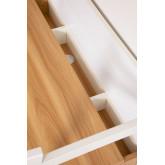 Desk in Steel & Melamine  Rhank , thumbnail image 5