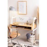Desk in Steel & Melamine  Rhank , thumbnail image 1
