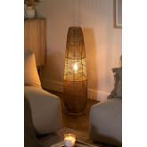 Braided Paper Floor Lamp Menak , thumbnail image 2