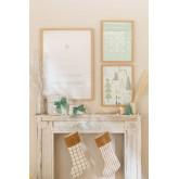 Set of 3 Christmas Decorative Sheets (50x70 and 30x40 cm) Belene, thumbnail image 1