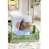 Foldable & Stackable Plastic Box Doli , thumbnail image 1