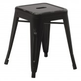 LIX Vintage Low Steel Stool, thumbnail image 1