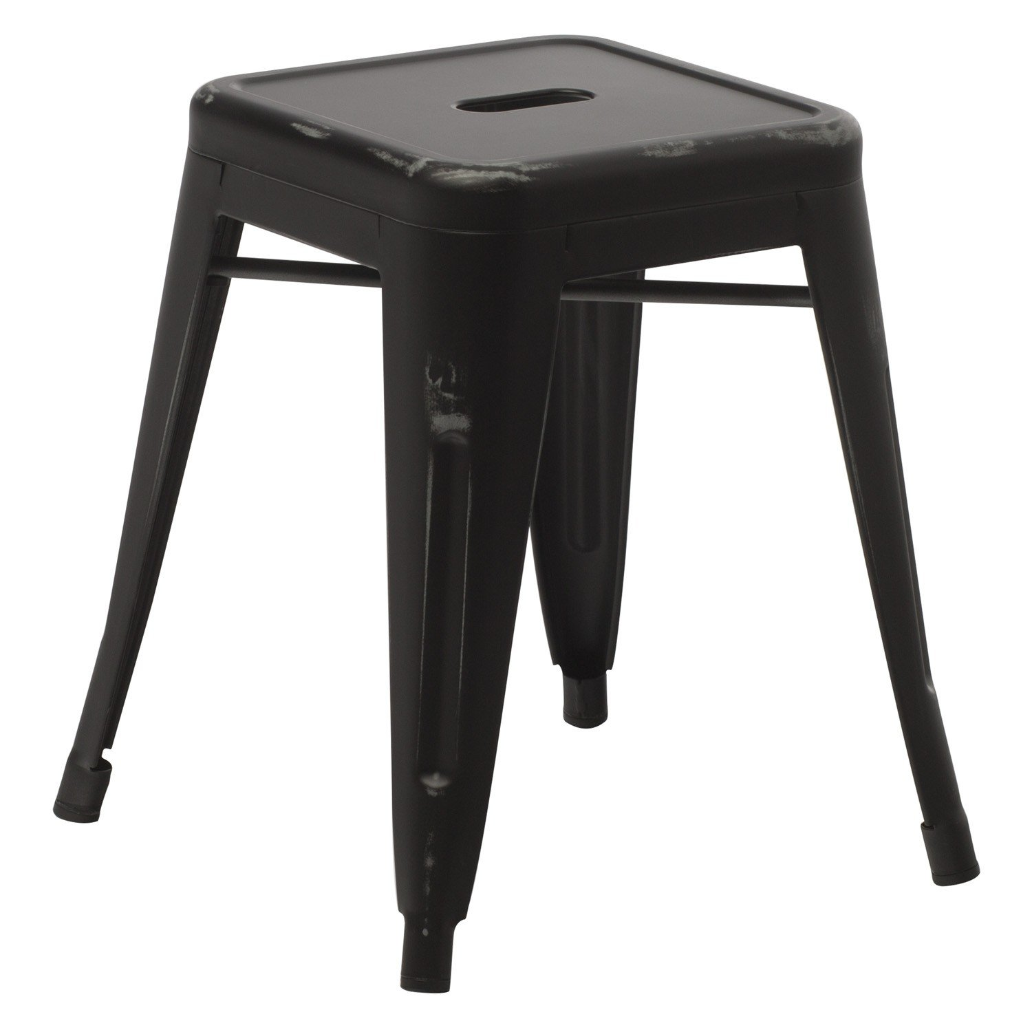 LIX Vintage Low Steel Stool, gallery image 1