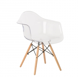 Transparent IMS Chair with Armrests