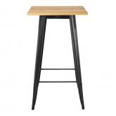 Vintage Wooden LIX High Table, thumbnail image 2