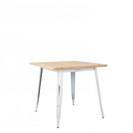 Vintage Wooden LIX Table (80x80)
