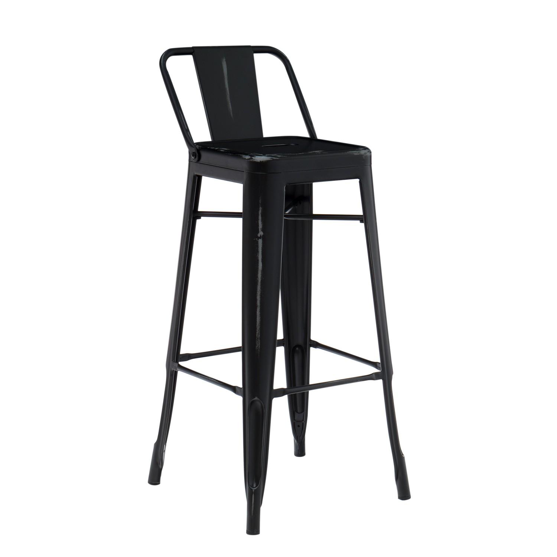 vintage lix bar stool with backrest sklum united kingdom. Black Bedroom Furniture Sets. Home Design Ideas