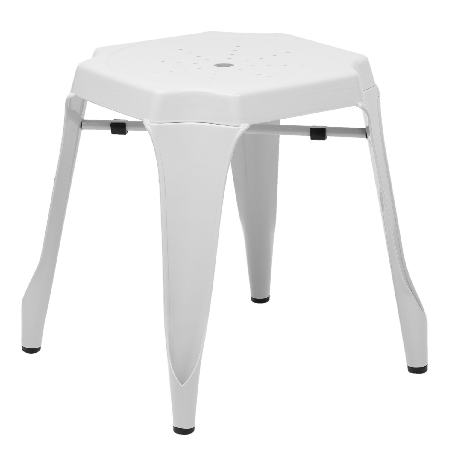 Ziu Low Steel Stool, gallery image 1