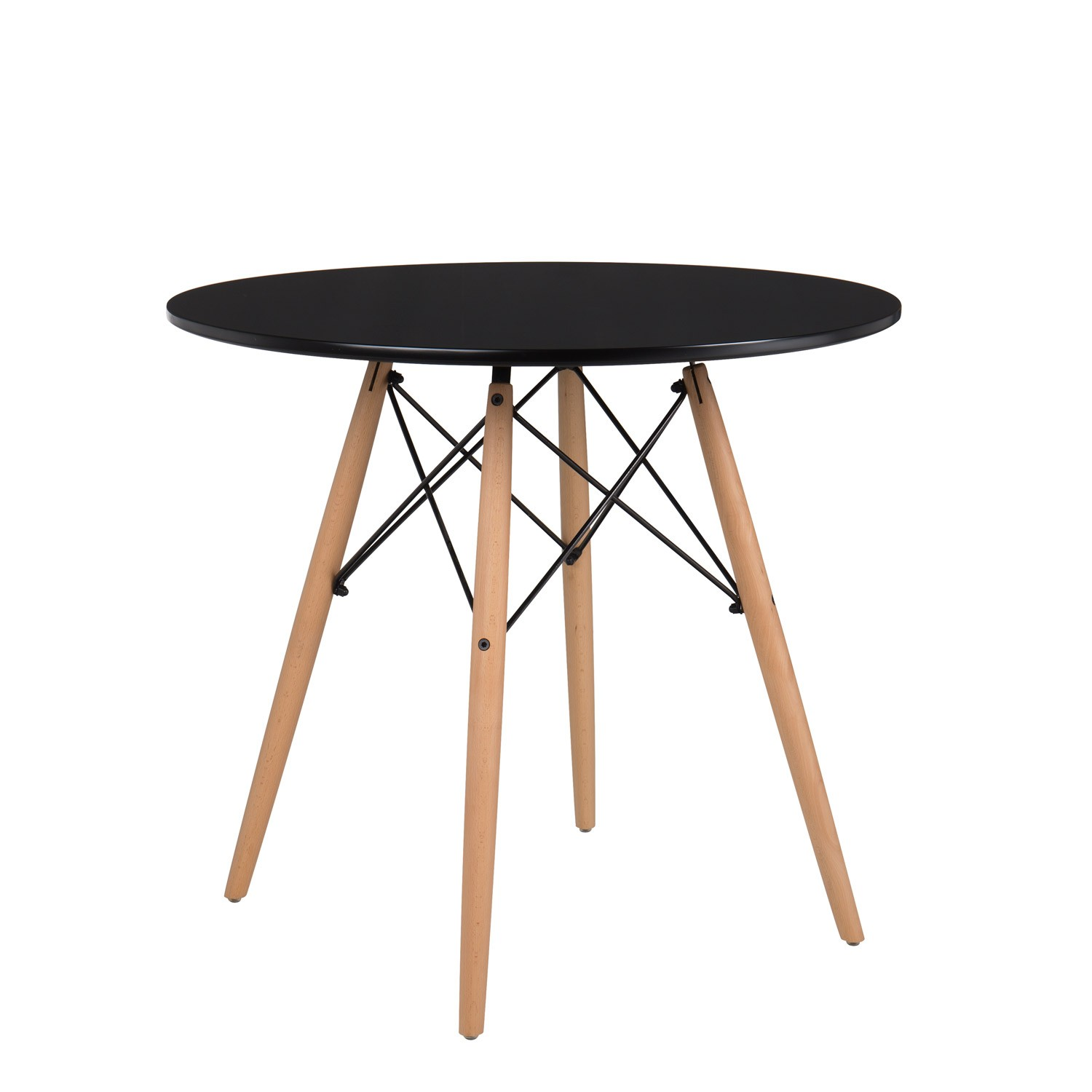 Ø80 MDF Brich Scand Table, gallery image 1