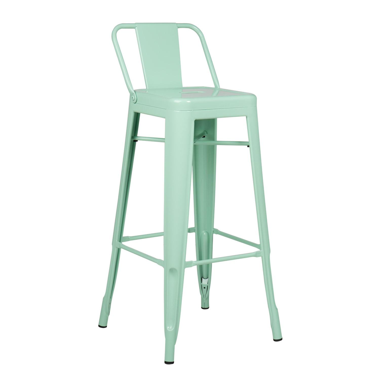 lix bar stool with backrest sklum united kingdom. Black Bedroom Furniture Sets. Home Design Ideas