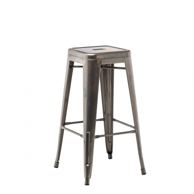 Brushed LIX Bar Stool