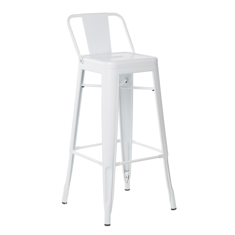 matte lix bar stool with backrest sklum united kingdom. Black Bedroom Furniture Sets. Home Design Ideas