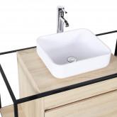 Silvy 100 Bathroom Vanity Set with Mirror, thumbnail image 4