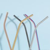 Kürv Straws in Metallic Matte, thumbnail image 4