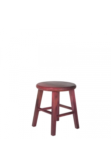 Low Wooden Stool Blum