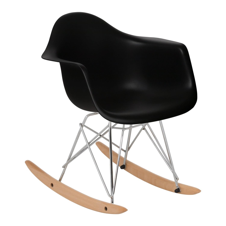 Metallic Brich Scand Rocking Chair [KIDS!], gallery image 1