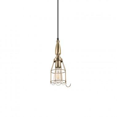 Metallic Torch Lamp
