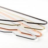 Perchas Gärde Metalizadas con pinza