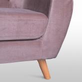Three Seater Velvet Sofa AKTIC, thumbnail image 2