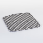Varli Chair Upholstered Houndstooth, thumbnail image 1