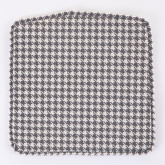 Varli Chair Upholstered Houndstooth, thumbnail image 2