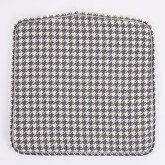Varli Chair Upholstered Houndstooth, thumbnail image 3