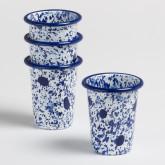 Set de 4 Vasos Atah by Bornn