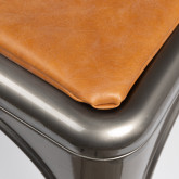 LIX Chair Vintage Leatherette Cushion, thumbnail image 4
