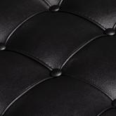 Chaise Longue in Leatherette Tathum, thumbnail image 6