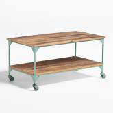 Trada Coffee Table with Wheels, thumbnail image 1