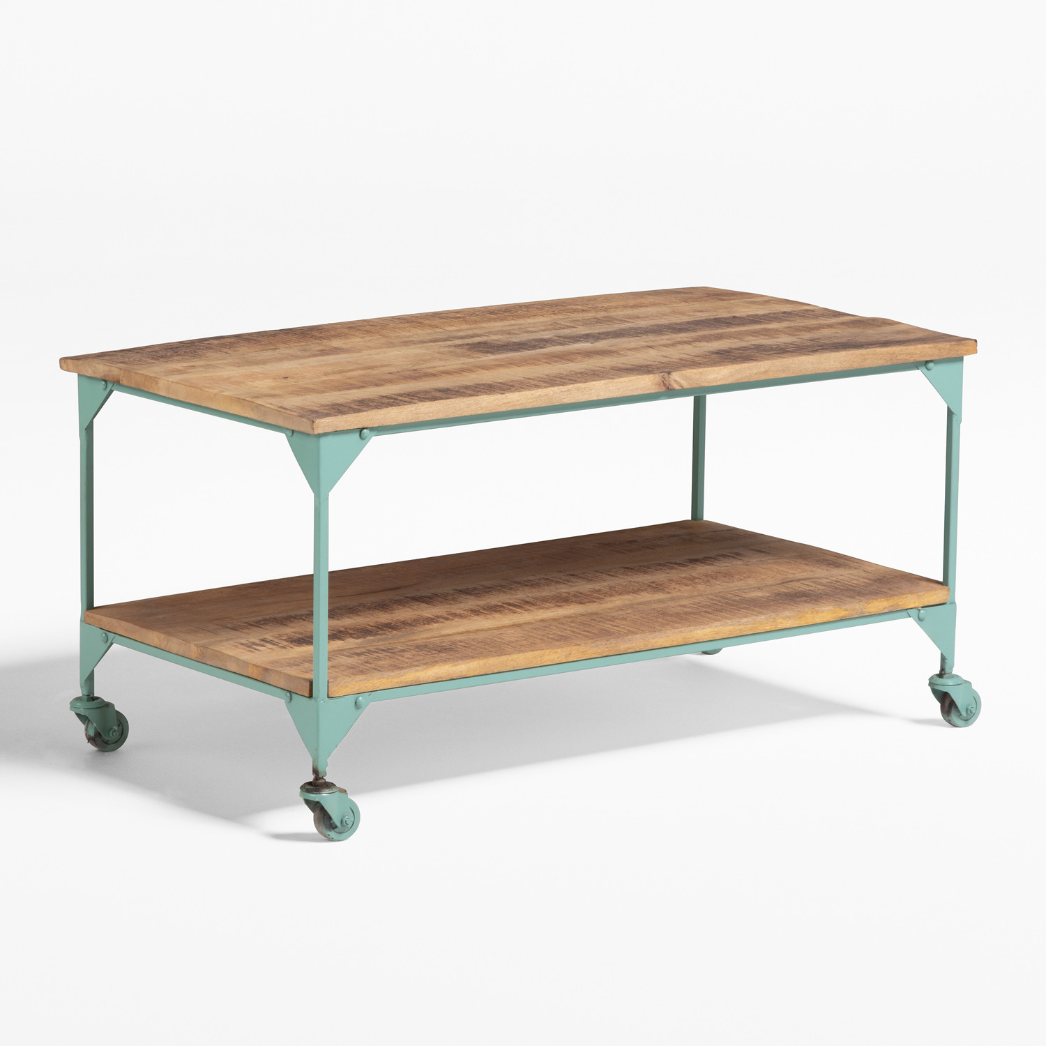 Trada Coffee Table with Wheels, gallery image 1