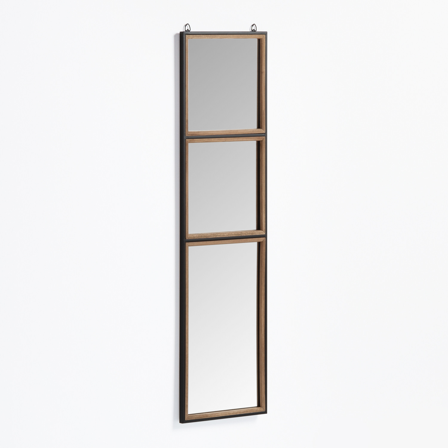 Wall Mirror in Wood and Metal (130.5x35 cm) Iogus, gallery image 1
