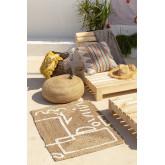 Jute and Cotton Rug (110x70 cm) Dudle, thumbnail image 1