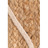 Natural Jute Rug (240.5x162 cm) Dyamo, thumbnail image 5