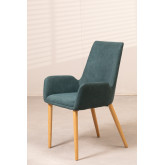 Rubber Wood Dining Chair Azra, thumbnail image 1