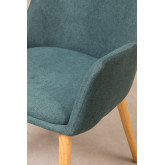 Rubber Wood Dining Chair Azra, thumbnail image 4
