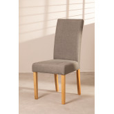 Pack of 2 Cindy Fabric Dining Chairs, thumbnail image 2