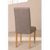 Pack of 2 Cindy Fabric Dining Chairs, thumbnail image 4