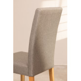 Pack of 2 Cindy Fabric Dining Chairs, thumbnail image 5
