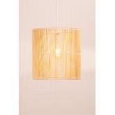 Rattan Ceiling Lamp (Ø30 cm) Kub, thumbnail image 3