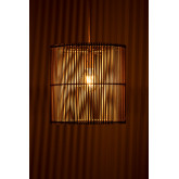 Rattan Ceiling Lamp (Ø30 cm) Kub, thumbnail image 4