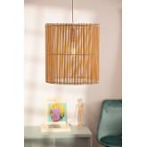 Rattan Ceiling Lamp (Ø30 cm) Kub, thumbnail image 1